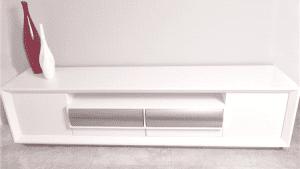 מזנון לבן לסלון דגם קפריז