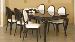סט פינת אוכל + כסאות לואי