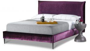 מיטה מרופדת דגם מעין